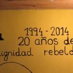 dignidad rebelde 20 anni zapatismo