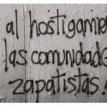 alto al hostigamiento en comunidades zapatistas