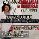 Global Action Justice for Berta Caceres
